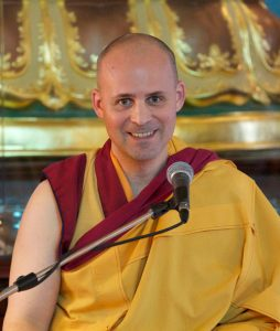 Gen-la Kelsang Jampa Deputy Spiritual Director of New Kadampa Traditional, Meditation and Modern Buddhism