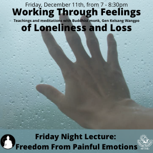 Freedom from Painful Emotions Series: Working Through Feelings of Loneliness and Loss