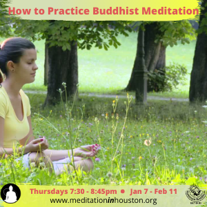 How to Practice Buddhist Meditation