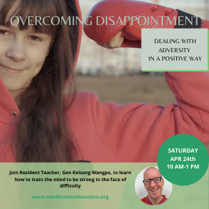 Overcoming Disappointment: Dealing with adversity in a constructive way