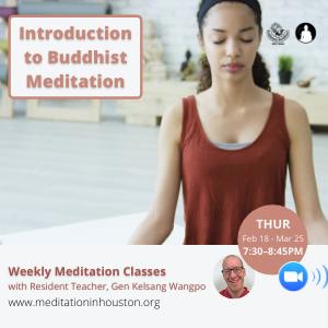 Introduction to Buddhist Meditation