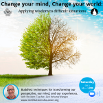 Change your mind, Change your world: Applying wisdom to difficult situations